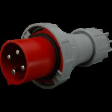 Вилка кабельна IVGN 12543, IP67 (125A, 400V, 3P + PE) SEZ