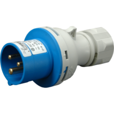 Вилка кабельна IVN 1632, IP44 (16A, 230V, 2P+PE) SEZ