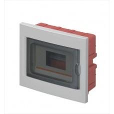 Вбудований розподільчий щит Elettrocanali EC63008 IP40 на 8 модулів