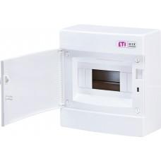 Навісний розподільчий щит ETI ECT8PO IP40  на 8 модулів 1101005