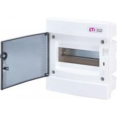 Вбудований розподільчий щит ECM8PT IP40 на 8 модулів 1101010