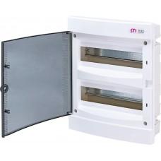 Вбудований розподільчий щит ECM24PT IP40 на 24 модулі 1101012