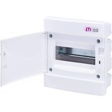 Вбудований розподільчий щит ECM8PO IP40 на 8 модулів 1101014